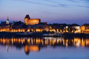 Toruń - widok na stare miasto