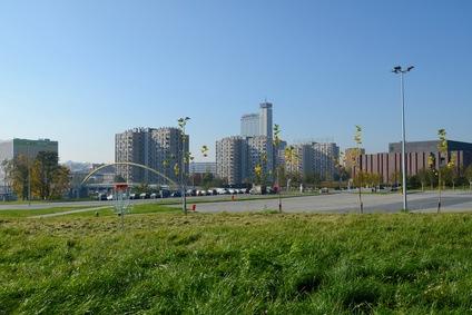 Katowice widok na miasto