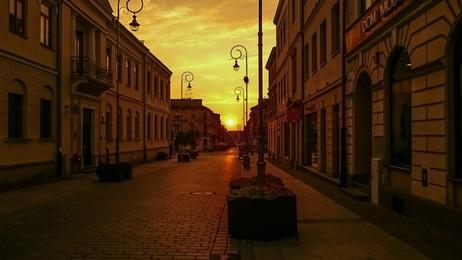 Kielce ulica Sienkiewicza