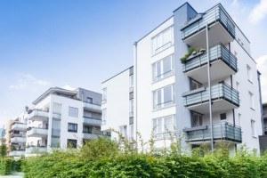 Nowe bloki mieszkaniowe