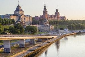 Szczecin panorama miasta