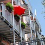 kilka balkonow w mieszkaniach z mdm